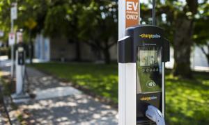 Curbside EV charging